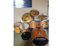 Full Drum Kit - good condition