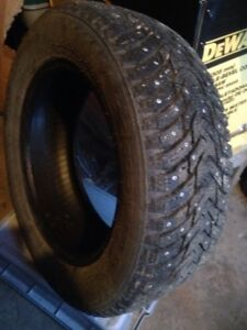 Size 15 studded winter tires, set of 4