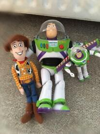 Buzz and Woody toys