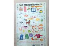 Children's First Mandarin Words poster