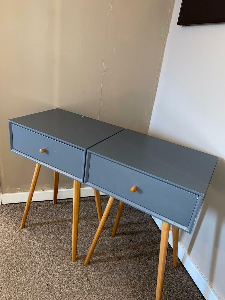 Picture of: Two Bedside Tables From B M In Livingston West Lothian Gumtree