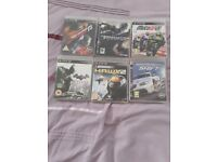Selection of PS3 computer games - excellent condition