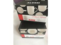 Alessi Mugs and Cups with saucers - La Bella Tavola Collection