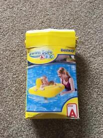 Baby swimming seat