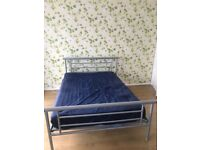 £50 king size bed and mattress