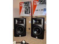 """2 x Jbl LRS 305. 5"""" studio monitors like new no"""
