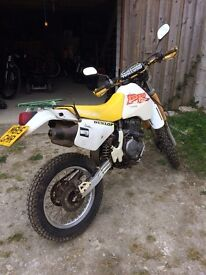 Sukuki DR 350 owed 7 years but hardly used dry stored in garage