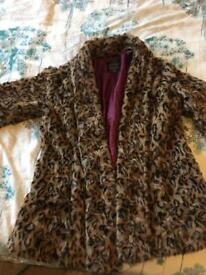 River Island faux fur jacket
