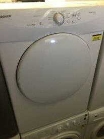 Hoover 8kg vented tumble dryer with 6 months repair/replacement warranty