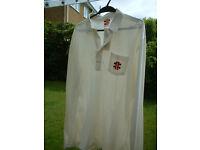Unused Gray-Nicolls Cricket Shirt / Tagged