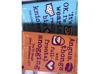 Louise Rennison's books.