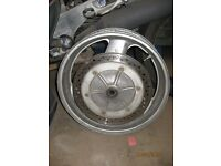 pan european st1100 back wheel with disc