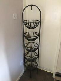 Wrought Iron vegetable/fruit stand £60