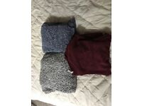 3 size 8 jumpers