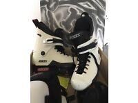 Roces Majestic 12 White Inline Skates UK Size 9 BARGAIN NOW £30