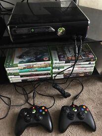 Xbox 360 s 250gb 14 games