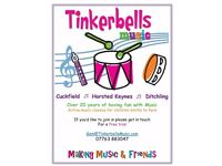 Tinkerbells Music Group for Babies and pre-schoolers