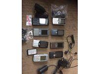 Job lot Sony phones £20.00 ONO