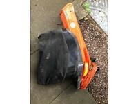 Flymo leaf blower/vac
