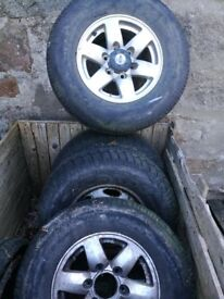 wheels and tyres Ford Ranger