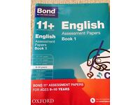 Bond 11+ Books ALL 4 RRP £32 Ages 9-10 10-11+