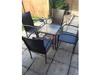 Garden furniture-Table and chairs