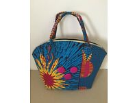 Fun and happy ladies hand bag by Lee Read Designs