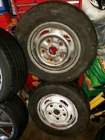1 r15 5 stud ford transit mrk 6 swb van white wheel