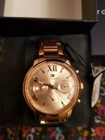 Tommy Hilfiger Rose Gold Watch