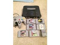 N64 Nintendo 64 console and games