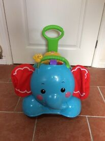 Fisher Price 3 in 1 Elephant Bounce, Stride and Ride (walker) - excellent condition