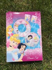 New Beach Disney princess set ball rubber ring swim arm bands
