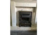 Potterton gas fire suite