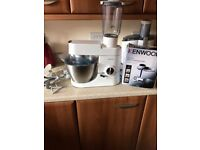 Kenwood mixer + blender + food mincer