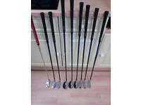 Customised Adams golf clubs