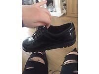 kickers lace ups