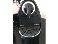 Nespresso Krups Coffee Maker with Aerocino and Capsule Holder