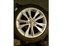 "Audi 'kinetic'17""alloy wheels"