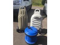 Caravan water bottles