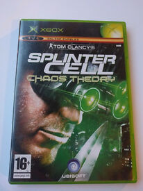 39010 Splinter Cell Chaos Theory - Microsoft Xbox Game (2005)