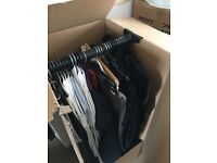 Wardrobe moving boxes only £5