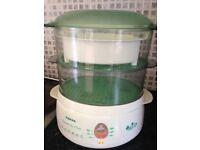 Steamer Tefal Two Level Egg Holder Rice Bowl