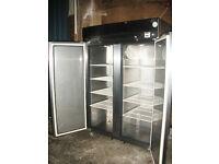 Large Heavy duty double door fridge