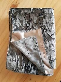 Silver grey wrap