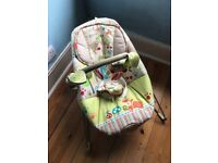 Fisher price Baby Bouncer Chair With Calming Vibrations