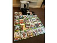 Xbox360 250gb boxed with kinect 27 games