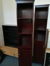 Tall Narrow Cabinet with Shelves.