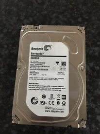 Seagate Barracuda 3TB Hard disk