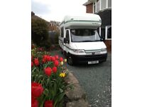 Autosleeper Pollensa Motorhome 5 Berth, Shower/Toilet, Kitchen Full Oven & 4 Burner Hob