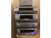 Technics Hi-Fi System + speakers and remote control